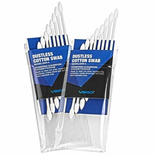 Anti-Static and Lint-Free Dustless Lens Cleaning Cotton Swabs DDR-4