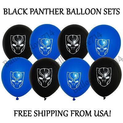 16 pcs Black Panther Themed 12