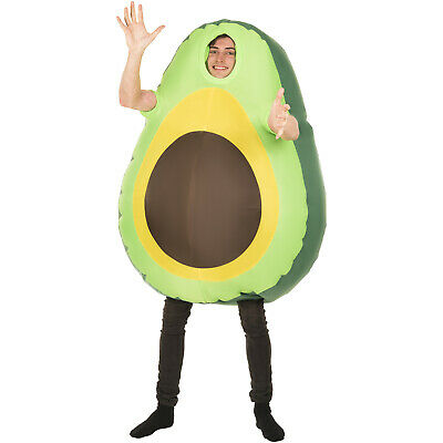 Avocado Inflatable Costume Adult Funny Giant Blow Up Fruit Food Fancy Dress