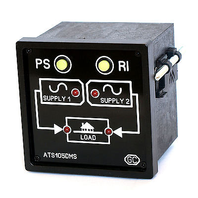 Inverter-Mains Automatic Transfer Switch Controller ATS Unit Change-Over Switch