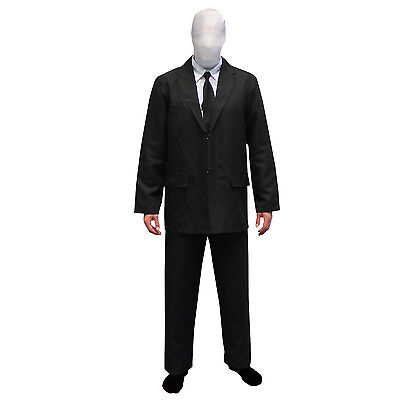 SALE Morphsuits Scary Slender Man Fancy Dress Costume Slenderman for Halloween - Morph Suits For Sale