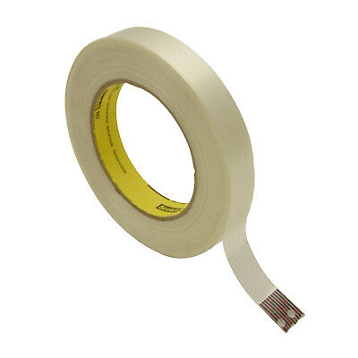 - 3M Scotch 897 Filament Strapping Tape: 3/4 in. x 60 yds. (Clear)