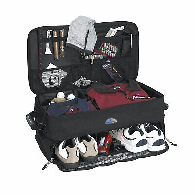 Samsonite Car Trunk Organizer Bag for Golf Accessories/ Gear w/ Dividers, Black