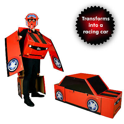 Transforming Morphmobile Robot Car Adult Fancy Dress Costume Funny One Size - Robot Costume Adult
