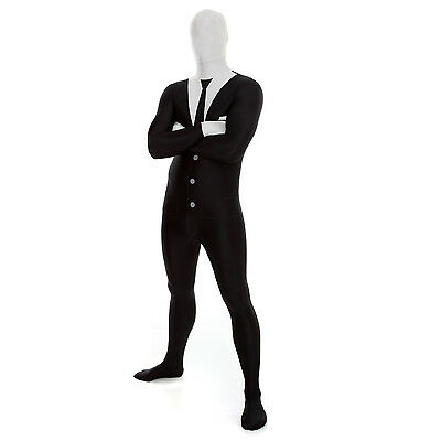 Morphsuit - Businessman or Slenderman Adult Slender Man Costume