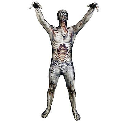 Morphsuit The Zombie Ganzkörperanzug Halloween Gr. M  - original (Ganzkörper Morphsuit)