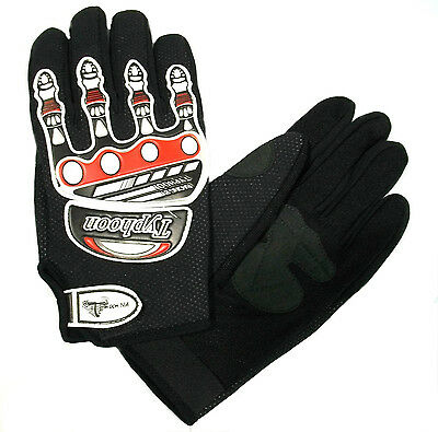 Clearance Adult Motocross Gloves Black Red Off Road Dirt Bike Atv Riding Gear