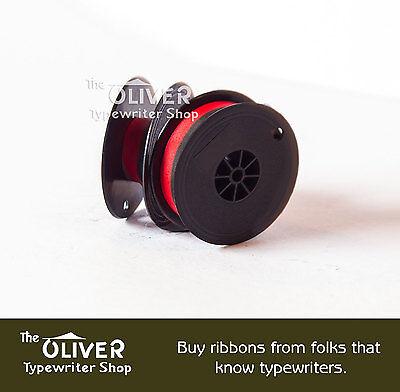 Underwood 3, 4, and 5 Red and Black Nylon Typewriter Ribbon