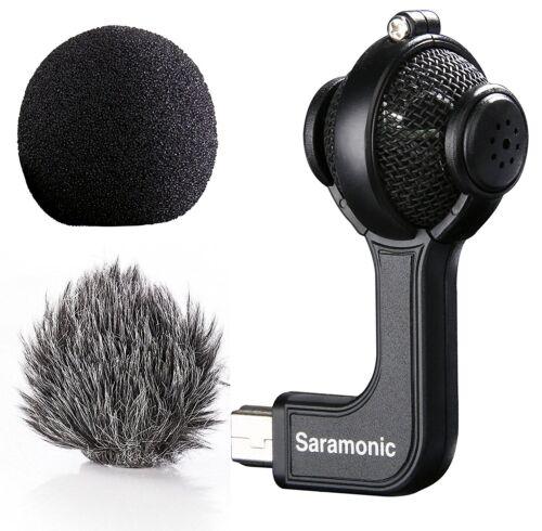 Saramonic G-Mic Stereo Ball Microphone with Foam & Furry Win
