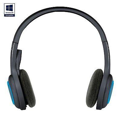 Logitech H600 Wireless Headset schnurlos schwarz-blau  H600 Wireless Headset