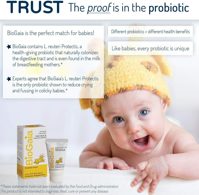BioGaia Protectis Probiotics Drops, Baby, Infants, Newborn and Kids, 5mL 1