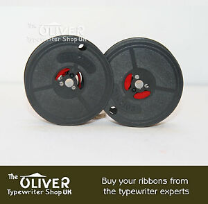 OLIVETTI BLACK & RED TYPEWRITER RIBBON:  Lettera 32,Studio 45,D82 Lexicon80