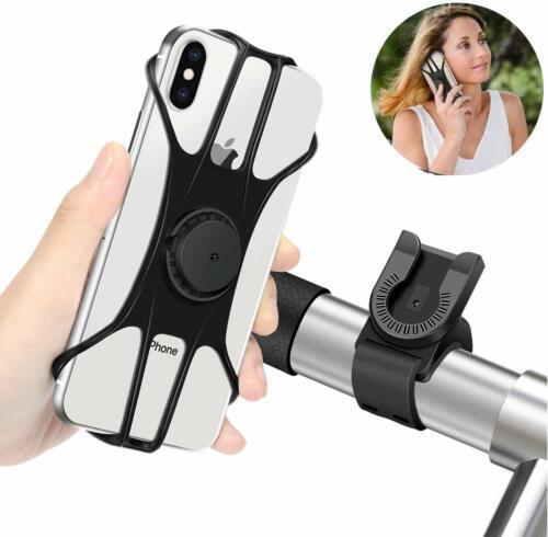 """360° Handyhalterung Fahrrad,Motorrad Handyhalter Universal Für 4-6.5"""" Smartphone"""