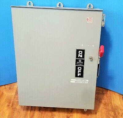General Electric GE TH3362R Model 10 60A 600VAC Enclosure