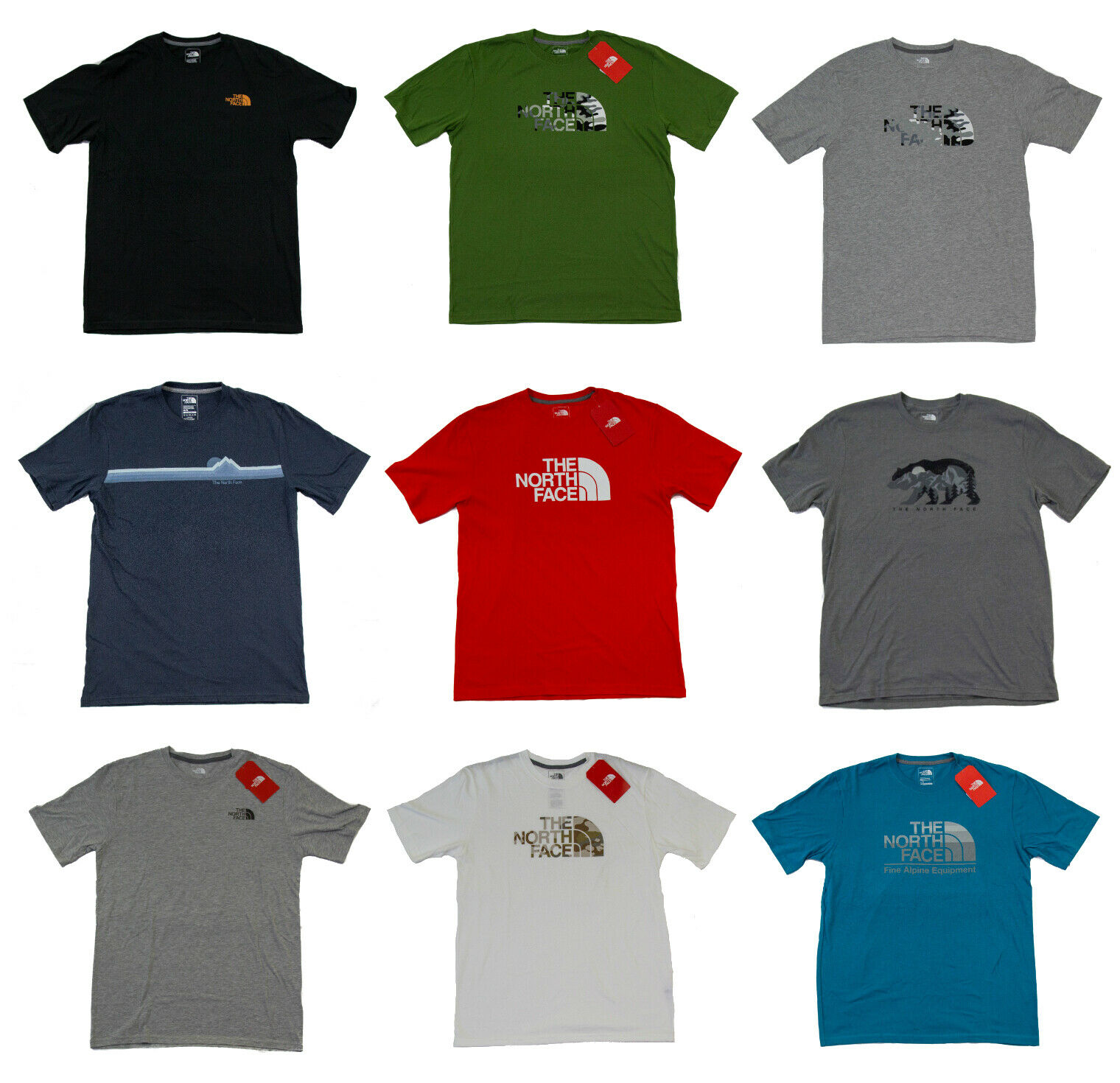 The North Face Men's Tri-Blend T-Shirt - Standard Fit - Size