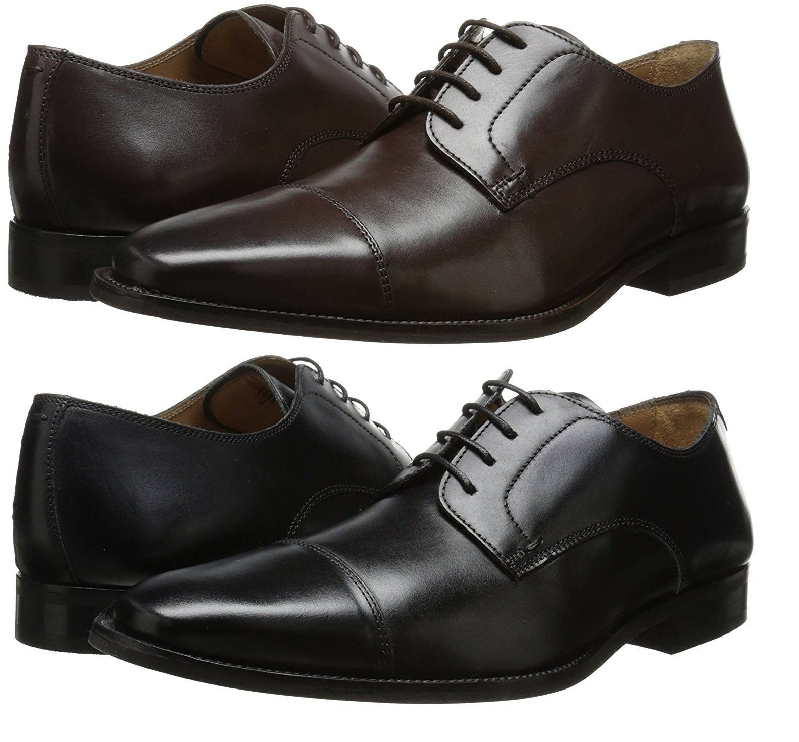 Florsheim Men's Sabato Cap Toe Oxfords Premium Leather Dress Shoes NEW