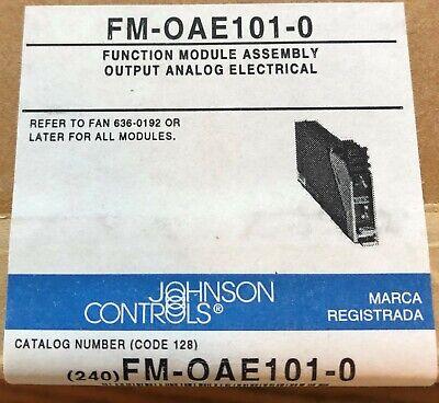 Johnson Controls Fm-oae101-0 Output Analog Module New In Sealed Box