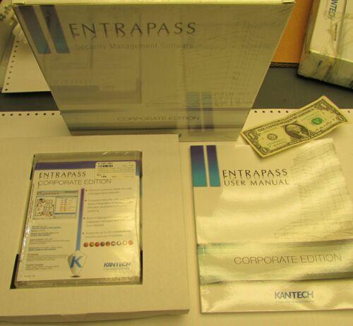 New Sealed Kantech Entrapass Security Management Software Corporate E-COR-EN-V5