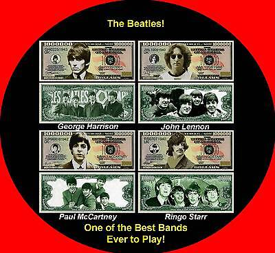 IN MEMORY OF THE BEATLES ROCK BAND BILL SET (4 ea Set) on Rummage