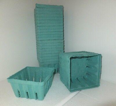 35 Quart Fiber Berry Boxes Berigard - Berry Boxes