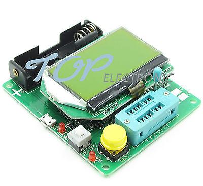 New M328 Transistor Tester Lcr Capacitance Esr Meter Usb Charging