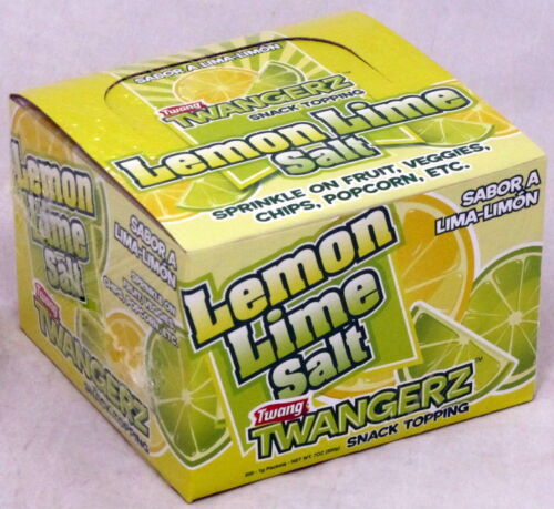 Twang Twangerz Salt Lemon Lime Bulk 200 Ct One (1) Gram Packages per Box