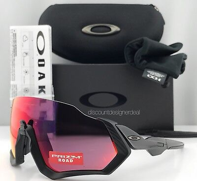 Oakley Flight Jacket Sunglasses OO9401-0137 Polished Black PRIZM ROAD OO9401-01