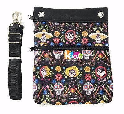 COCO Shoulder Bag, Disney COCO Cross Body Shoulder Bag Purse Black