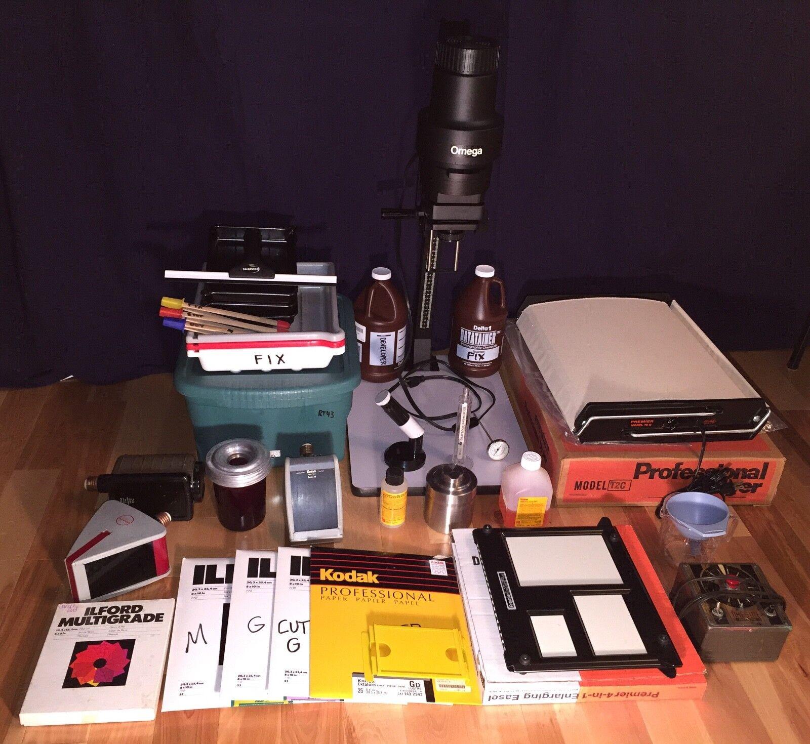Фотоувеличитель Complete B&W darkroom Omega C700 enlarger Premier