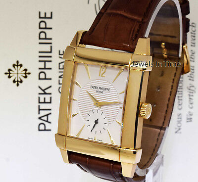 ff16b5efde8 Patek Philippe Mens 5111 Gondolo 18k Yellow Gold Watch Box Papers 5111J