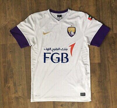 Al Ain FC 2016/17 Nike Authentic Jersey White/Purple,S Dri Fit Football Soccer image