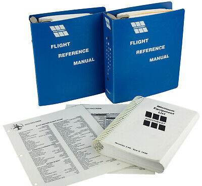 Southwest Airlines B737 Flight Reference Manual, MEL, and Checklists Bundle