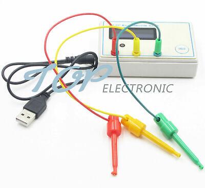 Sainsmart Sm-328 Transistor Capacitor Esr Inductance Resistor Meter Lcr L2ke
