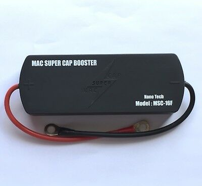 Mac SuperCap Battery Booster 16 Farads 16.2V SuperCapacitor Pack Engine Starting Battery Booster Pack