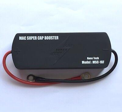 Mac Supercap Battery Booster 16 Farads 16.2v Supercapacitor Pack Engine Starting