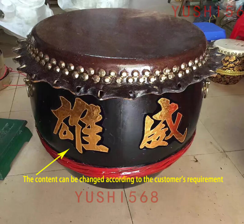 Chinese Authentic Foshan Lion Drum Dance/Martial Arts Kung Fu Drum/ Gongs Drums