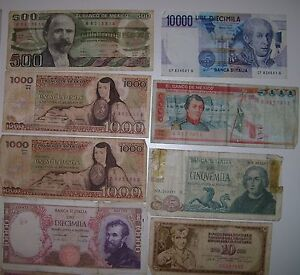 REDUCED 17 Assorted Canadian USA,Italian Mexican paper currency, Cornwall Ontario image 4