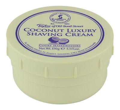 Taylor of Old Bond Street Coconut Shaving Cream 150 g. Shaving Cream & -