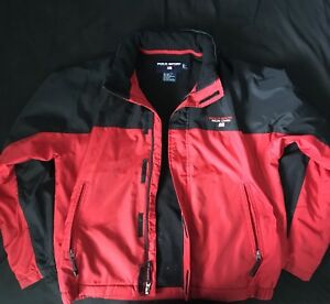 Ralph Lauren Polo Sport Jacket Size Large Men's Red and Black
