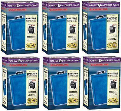Marineland 24-Pack Emperor Rite Cartridge, Size E Marineland Emperor Filter Cartridge