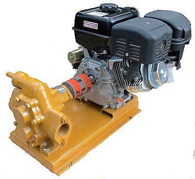 Oil Transfer Gear Pump 100 Gpm Gas Powered For Motor Oil Diesel Biodiesel