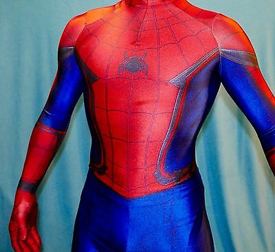 High Quality The Civil War Spider-Man 3D Printing with Muscle Shading Costume - Spiderman Civil War Costume