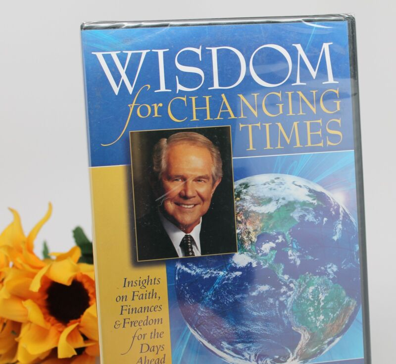 2 Pat Robertson DVDs New