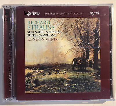 Richard Strauss: Serenade; Sonatina; Suite; Symphony (CD, Oct-1997, 2 Discs,...