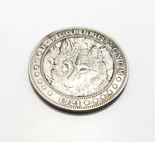 1921 Morgan Dollar Hobo Nickel Coin pack Wolf
