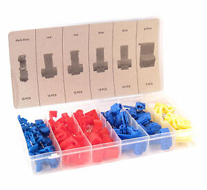 65Pc-Automotive-Car-Quick-Splice-Electrical-Wire-Connector-Assortment-Kit