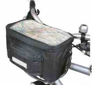 NEW-INSULATED-BICYCLE-HANDLEBAR-BAG-BIKE-CYCLE-FRONT-PANNIER-MAP-HOLDER