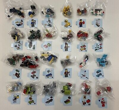 NEW LEGO CITY 60268 Christmas Advent Calendar 24 Gifts **NO BOX** w Minifigures