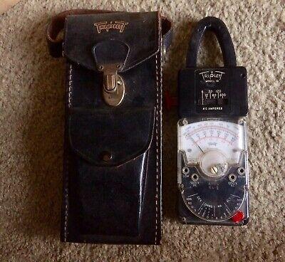 Triplett Model 10 Model 310 Clips Cords Leather Case