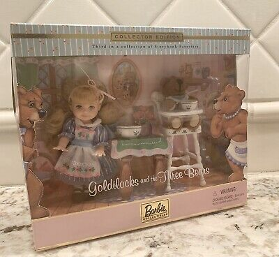 Barbie--Goldilocks and the Three Bears Collector Set 2000 So Adorable!